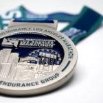 2018 sketchers performance los angeles marathon medal by kb creative designs