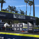 2018 los angeles marathon finish line by kb creative designs