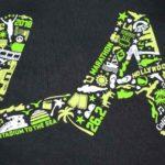 2018 la marathon shirt design by kb creative designs